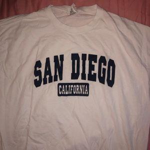 Other - San Diego CA short sleeve T-shirt